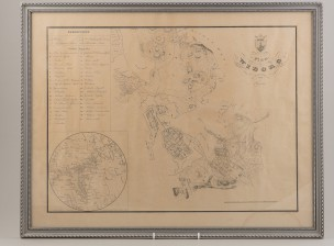 Plan af Wiborg 1839