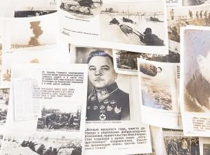 Talvisodan venäläisiä propagandajulisteita