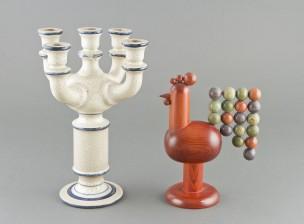 Kynttilänjalka ja koriste