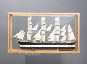 Laivan pienoismalli (Pommern)