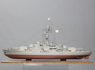 Laivan pienoismalli (Panssarilaiva Ilmarinen)