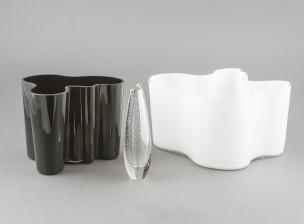 Design lasiesineitä, 3 kpl