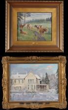 Einari Uusikylä ja maalaus