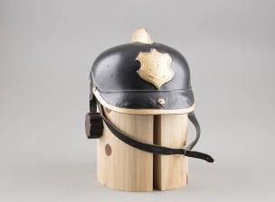 Turun palokuntalaitoksen kypärä
