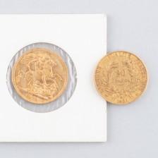 Kultarahoja, 2 kpl, Ranska