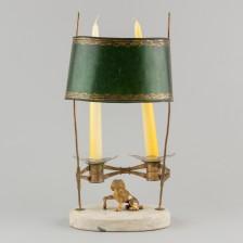 Bouillotte-kynttilälamppu