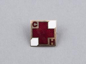 Punaisen ristin kultainen rintamerkki - CH