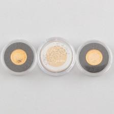 Juhlaraha, 50 € ja kultarahoja, 2 kpl, 20 €