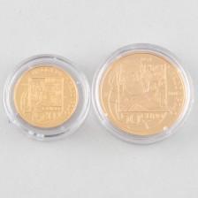 Kultarahoja, 2 kpl San Marino 20 € & 50 € 2004