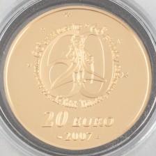 Kultaraha, Ranska 20 € 2007