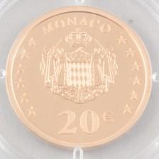 Kultaraha, Monaco 20 € 2002