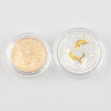 Juhlarahoja, 2 kpl, Ranska 20 € & 1,5 € 2004