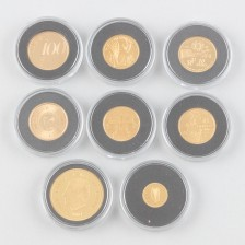 Kultarahoja 8 kpl