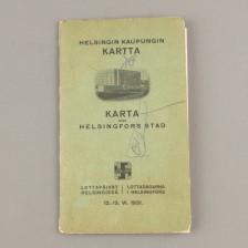 Helsingin kaupungin kartta