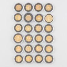 Kultarahoja, 24 kpl