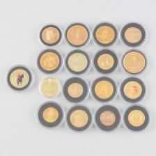 Kultarahoja, 17 kpl