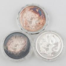 Juhlaraha, Kiina 50 Yuan 2005, 3 kpl