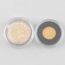 Kultarahoja, 2 kpl, Suomi 20 € 2005 ja 50 € 2006