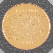 Kultaraha, Suomi 100 € 2008