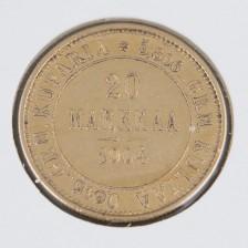 Kultaraha, 20 mk 1904