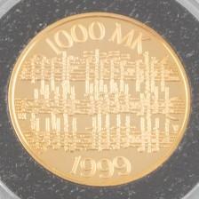 Kultaraha, Suomi 1000 mk 1999