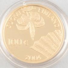 Kultaraha, Suomi 100 € 2004