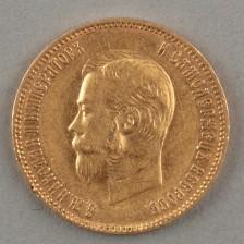 Kultaraha 1903 10 rup