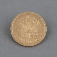 Kultaraha, 5 ruplaa 1903