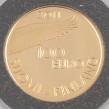 Kultaraha, Suomi 100 € 2011