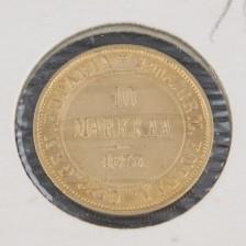 Kultaraha, 10 mk 1878