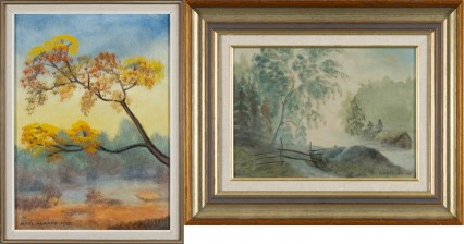 Matti Alanko ja maalaus