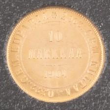 Kultaraha, Suomi 10 mk 1904