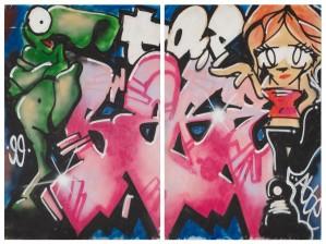 Graffiti, 2 osaa