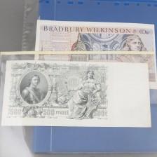 Erä ulkomaisia seteleitä