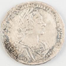 Hopearaha, Venäjä rupla 1723