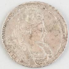 Hopearaha, Venäjä rupla 1731