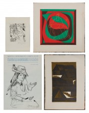 Evald Okas, 2 kpl ja grafiikkaa, 2 kpl