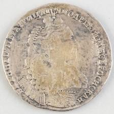 Hopearaha, Venäjä rupla 1737